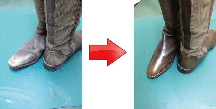 ブーツの修復事例 | 岐阜・郡上 ...